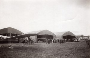 Briot Military Aviation Picardie Maneuvers Hangars Airplanes Branger Photo 1910