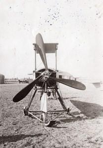 Reims Military Aviation Breguet Engine Propeller old Meurisse Photo 1911