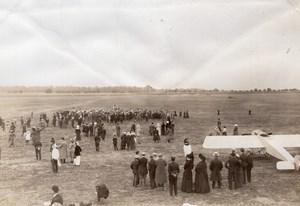 Aviation Brindejonc des Moulinais Morane Saulnier old Photo June 1913