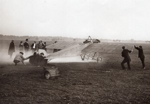 Aviation Brindejonc des Moulinais Morane Saulnier Coupe Pommery Photo June 1913