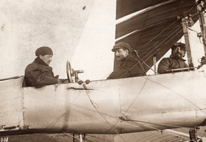 French Military Aviation Breguet Biplane old Rol Photo 1911