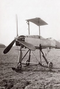 Reims French Military Aviation Breguet Biplane No wings old Meurisse Photo 1911