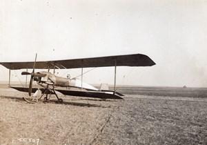 Reims French Military Aviation Breguet Biplane Henri Bregi? Branger Photo 1911
