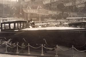 Paris Airshow Aviation Nieuport Motor Boat old Meurisse Photo 1920