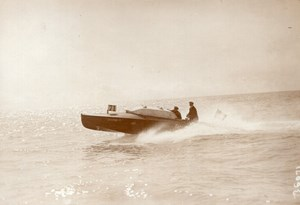 Monaco Socram 71 Motor Boat Speed Racing old Meurisse Photo 1913
