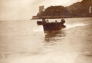 Monaco Motor Boat Racing old Meurisse Photo 1913
