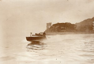 Monaco Meet Motor Boat Races Le Quatre Old Meurisse Photo 1913