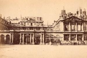 La Commune de Paris Palais Royal Palace old Loubere Photo 1871