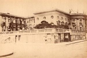 La Commune de Paris Palais de la Légion d'Honneur Ruins old Loubere Photo 1871