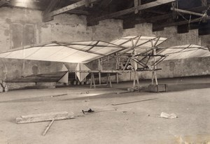 France Aviation Barlattier Aeroplane Prototype? Old Rol Photo circa 1906