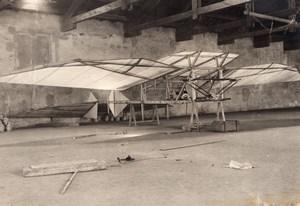 France Aviation Barlattier Aeroplane Prototype? Old Rol Photo circa 1906