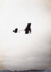 Aviation Victor? Demogeot Avia Goupy? Biplane Circuit de l'Est? old Photo 1910