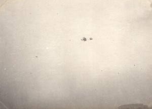 France Issy les Moulineaux Aviation Henry Rougier sur Biplan Voisin Ancienne Photo 1910