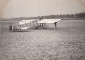 France Aviation High Wing Monoplane old Photo circa 1910