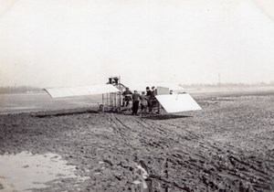 France Aviation Liore Monoplane old Photo March 1910