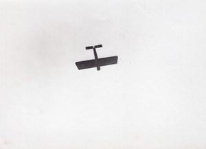France Aviation Monoplan en vol Ancienne Photo vers 1910