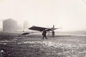 France Aviation Raoul Vendome Monoplane Hangars old Photo circa 1910