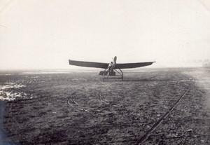 France Aviation Raoul Vendome Monoplane Airfield old Photo circa 1910