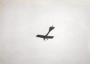 France Aviation Deperdussin? Monoplane in Flight old Photo circa 1910