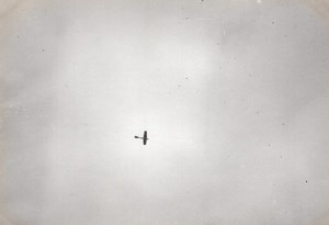 France Aviation Antoinette ? Monoplane in Flight old Photo circa 1910