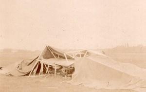 France Juvisy Aviation Lefebvre Wright Flyer after Crash old Photo 1909