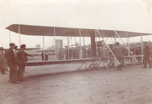France Aviation Circuit Europeen Labouret Astra Wright Biplane old Photo 1911