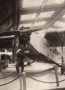 Allemagne Salon de l'Aviation Lufthansa Focke-Wulf A 17a Ancienne Photo 1927