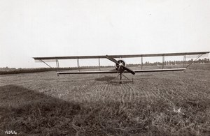 France Aviation Monoplan Zodiac de face Ancienne Photo Meurisse 1911