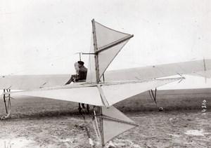 France Aviation Antoinette Monoplane tail old Branger Photo 1910