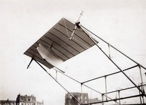 France Aviation Theodoresco Lecocq Rossi Monoplane old Meurisse Photo 1911