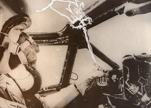 USA? Aviation Space Astronaut? Jet Aircraft Pilot? Cockpit old Photo 1960