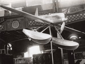Aviation London Olympia Airshow Supermarine Seaplane old Photo 1929