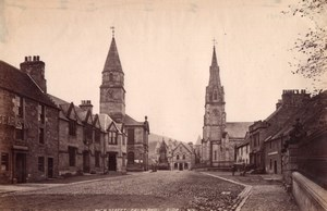 Scotland Fife Falkland High Street old James Valentine Photo 1880