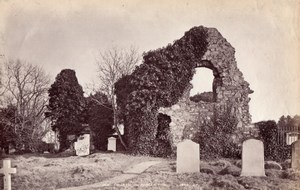 Scotland St Fillan's Forgan Church Ruins old James Valentine Photo 1880