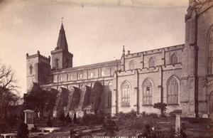 Ecosse Fife Abbaye de Dunfermline Abbey Ancienne Photo James Valentine 1880
