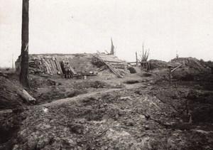 Belgique Abris Bois 37 Bois 16 Camouflage Caporal Lombart WWI Ancienne Photo 1917