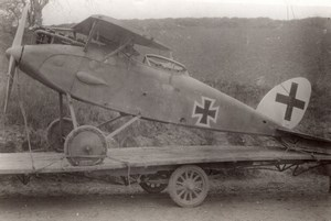 France WWI Military Aviation Pfalz? High Wing Monoplane old Photo 1914-1918