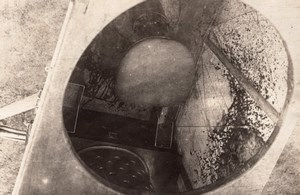 France WWI Military Aviation Cockpit Interior Seat old Photo 1914-1918