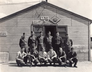 USA Peterson Field 91st Photographic Mapping Squadron Personnel old Photo 1944