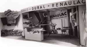 France Fair Bonalo Dural Renaulac Exhibit Paints old Puytoral Photo 1954