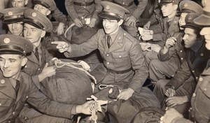 USA WWII New US Army recruits arriving in San Francisco old Photo 1939