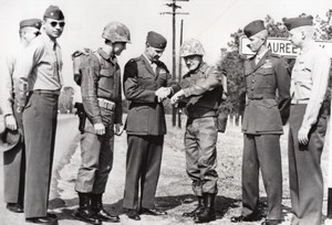 USA Beaufort US Marines Entrainement Marche Militaire Driftmier Maginnis Daley Ancienne Photo 1963