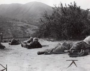 USA Camp Pendleton US Marine Corps Military Training old Photo 1965