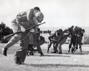 USA US Marine Military Training Casualty Evacuation old Photo 1964