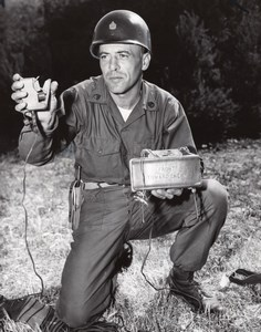 USA Camp Pendleton 2nd ITR Instructor Jerry Lasalvia Claymore mine Photo 1966