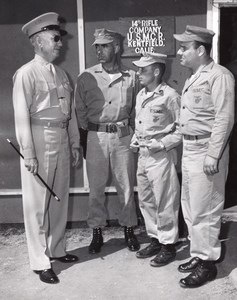 Kentfield US Marine Corps Reserve 14th Rifle Company Old Photo 1958