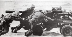 US Marines Maneuvers in Spain Recoilless Gun old Photo 1964