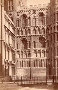 Royaume Uni Cathedrale d' Ely Cathedral Transept Sud Ouest Ancienne Photo GWW 1890