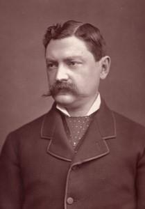 Royaume-Uni Theatre Acteur Henry James Byron Ancienne Photo 1880