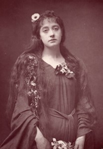 Royaume-Uni Theatre Actrice Florence Gerald Ophelie Ancienne Photo 1880